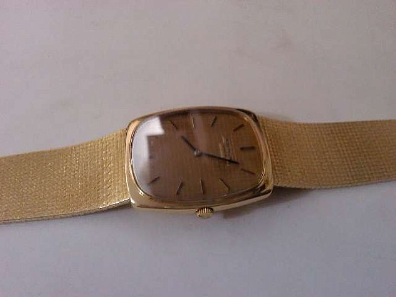 Relogio patek Philippe todo em ouro rosado bracelete
